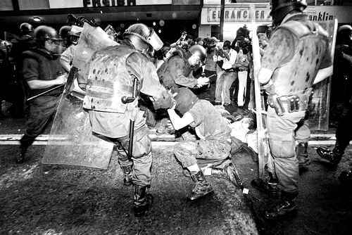 Aniversario de la represión del 28 de mayo.