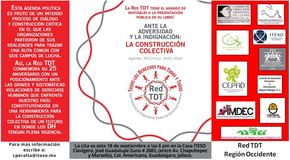 Presentación de la agenda política 2015-2020 de la Red TDT