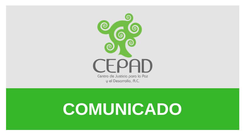 Comunicado – Mesa de Diálogo Participativo en torno a la Ley del Estado de Jalisco sobre Desaparición Forzada de Personas y Desaparición de Personas Cometida por Particulares